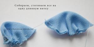резиночка для волос, шьем сами, резиночка своими руками, мастер-класс, для детей, детям, украшения
