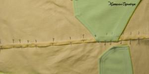 как выполнить запошивочный шов