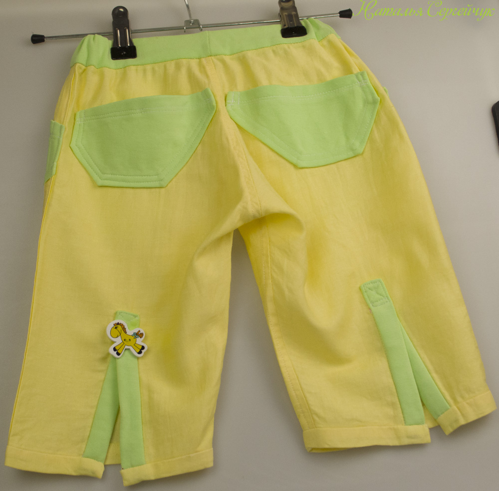 Летние брюки для мальчика своими руками 93