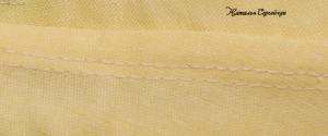 двойной бельевой шов