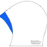 Как сшить шапочку шлем