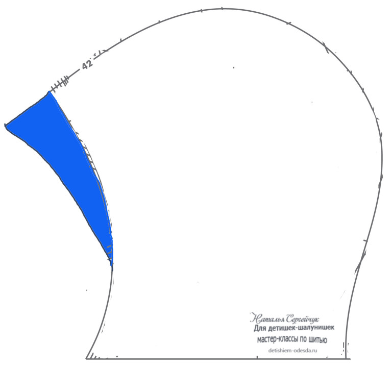 Шьем на оверлоке: Осенняя шапка из 59