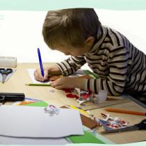 сердечки, аппликация с детьми, сердце из бумаги