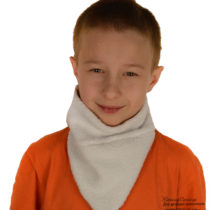 манишка шарф из флиса