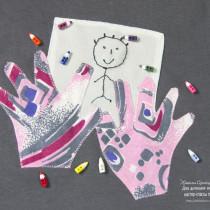 аппликация из ткани своими руками