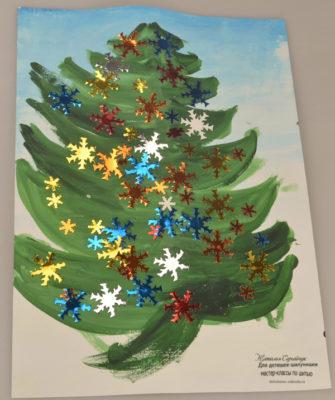 делаем новогоднюю елку своими руками