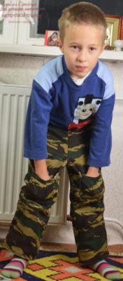 детский костюм камуфляж